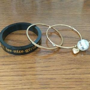Juicy Couture 3 Piece Bracelet Set